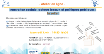 Grenoble workshop invitation